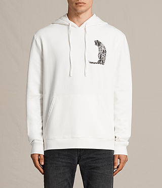 Herren Cheetahs Switch Kapuzenpullover (Chalk White) -