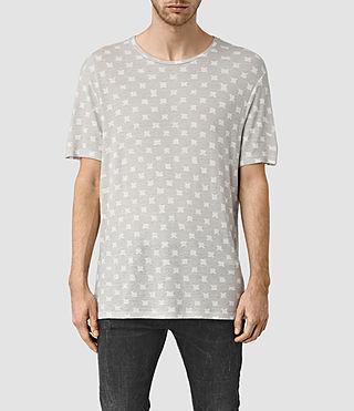 Mens Inkblot Crew T-Shirt (Chalk White)