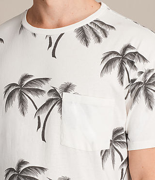 Men's Offshore Crew T-Shirt (Chalk White) - product_image_alt_text_2