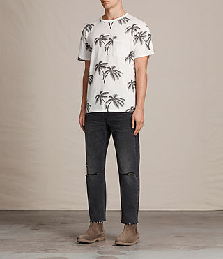 Hommes T-shirt Offshore (Chalk White) - Image 3