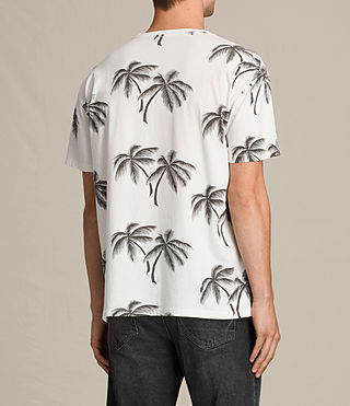 Men's Offshore Crew T-Shirt (Chalk White) - product_image_alt_text_4