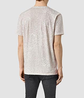 Herren Spot Camo Crew T-Shirt (ASH PINK) - product_image_alt_text_3