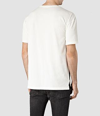 Hombre Loud Crew T-Shirt (Chalk White) - product_image_alt_text_4