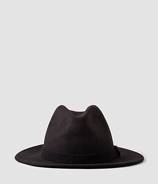 Mens Bronson Fedora Hat (Bitter) - product_image_alt_text_1