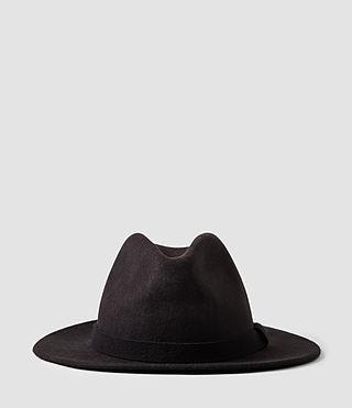 Mens Bronson Fedora Hat (Bitter)