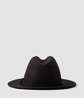 Hommes Bronson Fedora Hat (Bitter) - product_image_alt_text_3