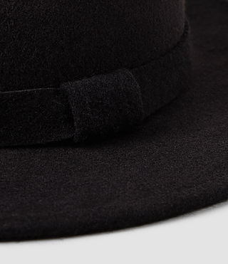 Hommes Bronson Fedora Hat (Bitter) - product_image_alt_text_4