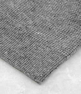 Hombres Hiru Cashmere Beanie (Grey Marl) - product_image_alt_text_3