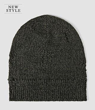 Mens Ektarr Beanie Hat (Khaki Brown)