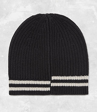 Mens Field Beanie Hat (Black)