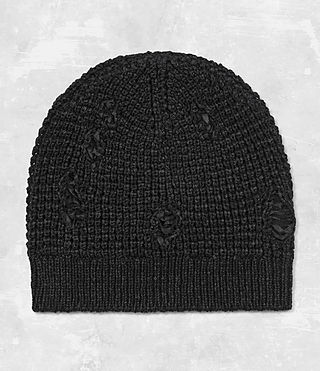 Mens Vektarr Beanie Hat (Black)