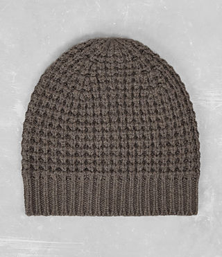 Mens Tornn Beanie Hat (Fawn Brown Marl)