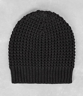 Mens Rok Beanie (Cinder Black Marl) - product_image_alt_text_1