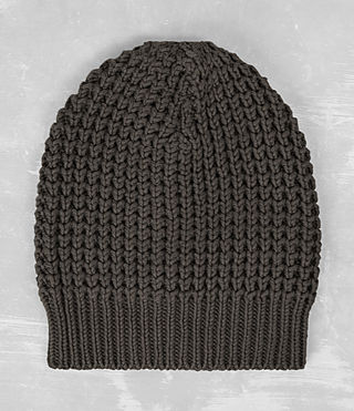 Hombre Rok Beanie Hat (Khaki Brown) - product_image_alt_text_1