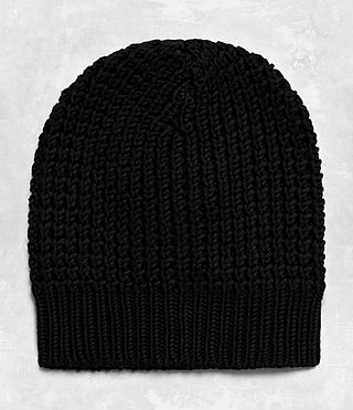 Men's Rok Beanie Hat (Black) -