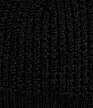 Mens Rok Beanie Hat (Black) - Image 2