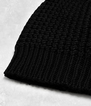 Mens Rok Beanie Hat (Black) - Image 3