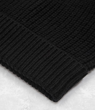 Mens Arlenn Beanie Hat (Black) - product_image_alt_text_3