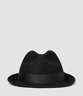 Herren Charge Trilby Hat (Black) - product_image_alt_text_2
