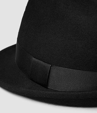 Herren Charge Trilby Hat (Black) - product_image_alt_text_4