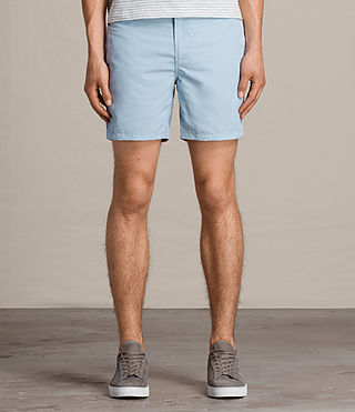 Mens Warden Swim Shorts (Sky Blue) - product_image_alt_text_3