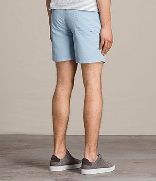 Mens Warden Swim Shorts (Sky Blue) - product_image_alt_text_4