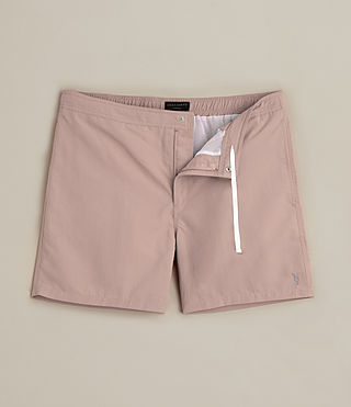 Men's Warden Swim Shorts (Dusk Pink) -
