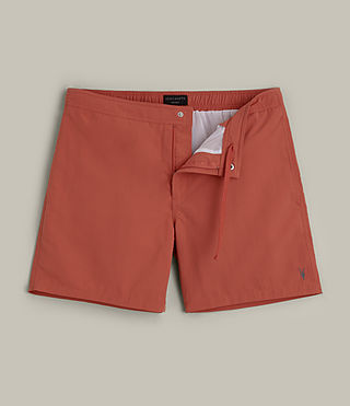 Herren Warden Swim Shorts (SUNSTONE RED) -