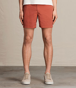 Herren Warden Swim Shorts (SUNSTONE RED) - product_image_alt_text_3