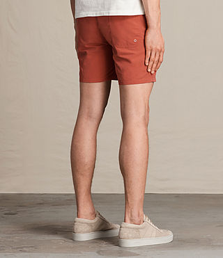 Herren Warden Swim Shorts (SUNSTONE RED) - product_image_alt_text_4