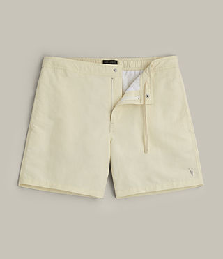 Mens Warden Swim Shorts (PRIMROSE YELLOW) - product_image_alt_text_1