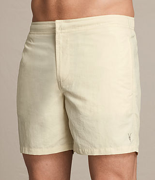 Hombre Warden Swim Shorts (PRIMROSE YELLOW) - product_image_alt_text_2