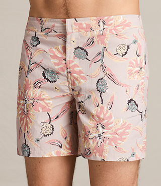 Mens Kauai Swim Short (ROSE GREY) - product_image_alt_text_2