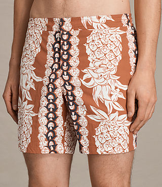 Hombre Shorts Ananas (SUNSTONE RED) - product_image_alt_text_2