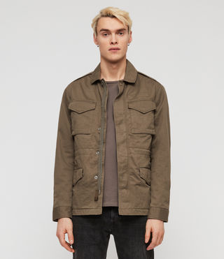 Men's Cote Jacket (Dusty Olive) - Image 3