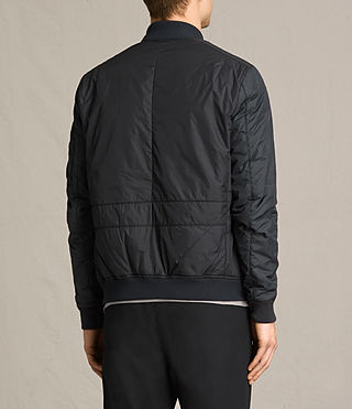 Mens Braddock Bomber Jacket (BLACK/SLATE GREY) - product_image_alt_text_6