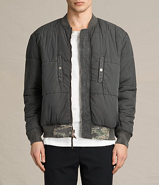 Hombres Bomber Malin (Khaki Brown) - product_image_alt_text_2