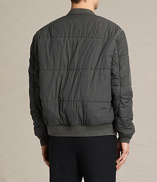 Men's Malin Bomber Jacket (Khaki Brown) - product_image_alt_text_5