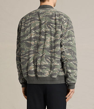 Men's Malin Bomber Jacket (Khaki Brown) - product_image_alt_text_6