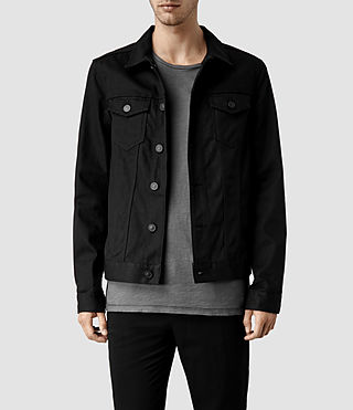 Mens Nitrate Denim Jacket (Black)