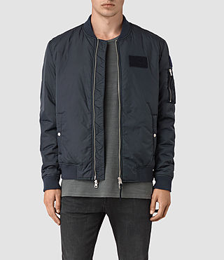 Hombre Brock Bomber Jacket (INK NAVY) - product_image_alt_text_1