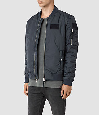 Hombre Brock Bomber Jacket (INK NAVY) - product_image_alt_text_2