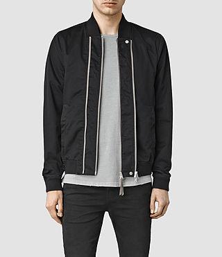 Mens Marlowe Bomber Jacket (Black)