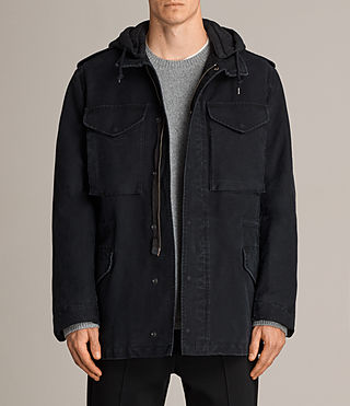 Men's Corp Jacket (Black) - Image 1