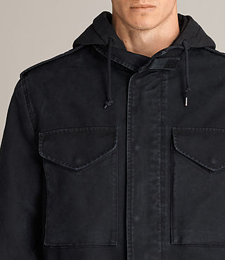 Men's Corp Jacket (Black) - Image 2