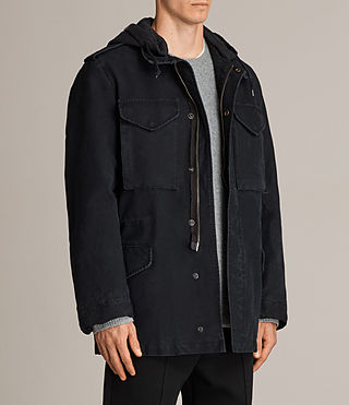 Men's Corp Jacket (Black) - Image 3