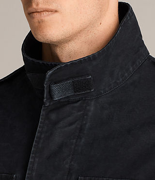 Men's Corp Jacket (Black) - Image 5