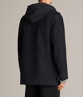 Men's Corp Jacket (Black) - Image 7