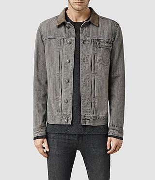 Men's Hough Denim Jacket (Grey)
