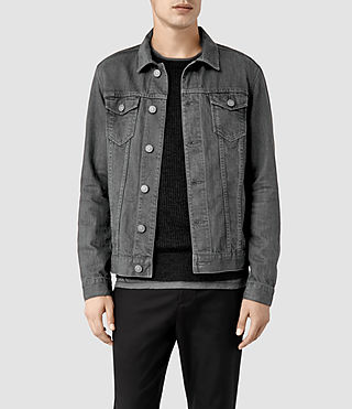 Men's Setsu Denim Jacket (Grey)